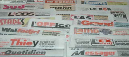 LA PRESSE, LES MEDIAS ET LE POUVOIR : DE LA LIBERTE D'EXPRESSION AU SENEGAL.