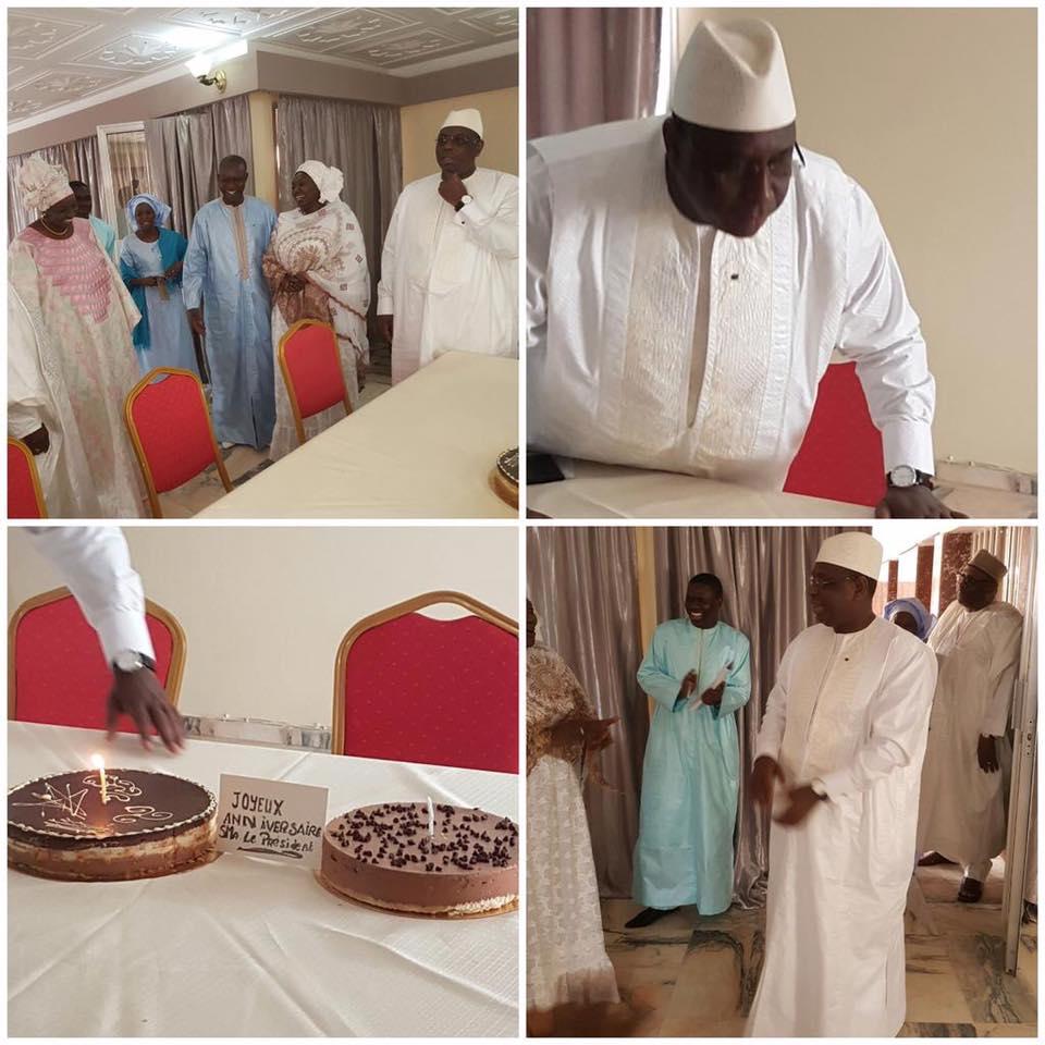 Images exclusives : Comment le Président Macky Sall a fêté son anniversaire ce 11 décembre