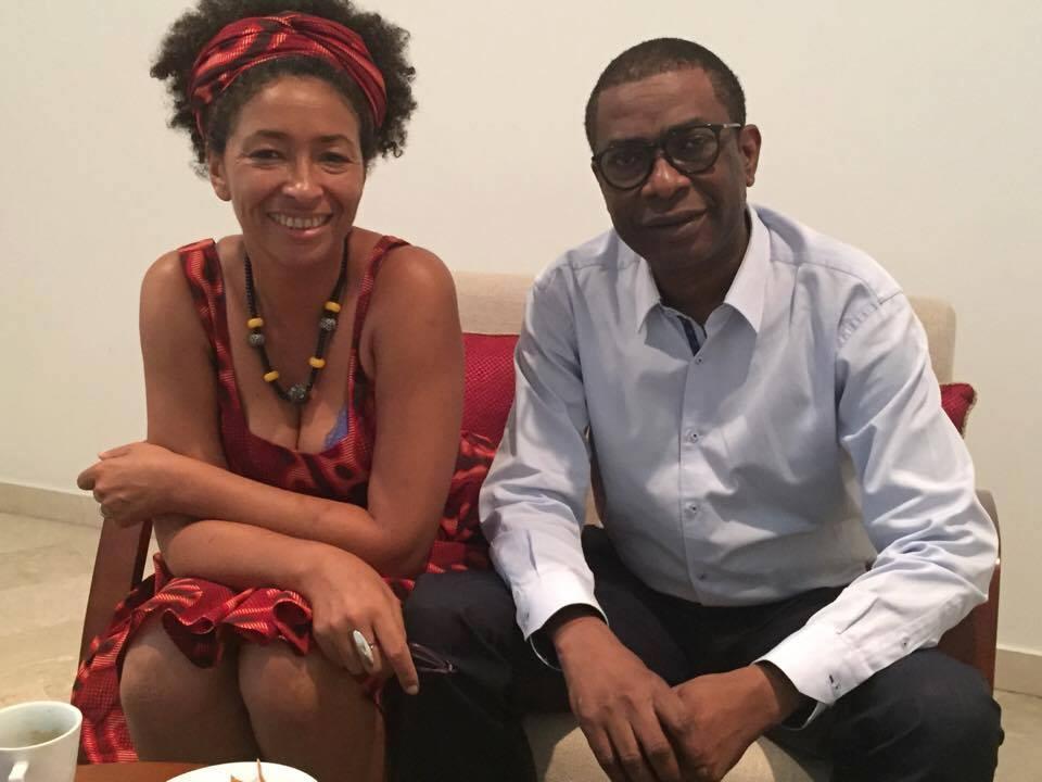 Youssou N'Dour reçu par Valérie Bony au mag de la culture de BBC