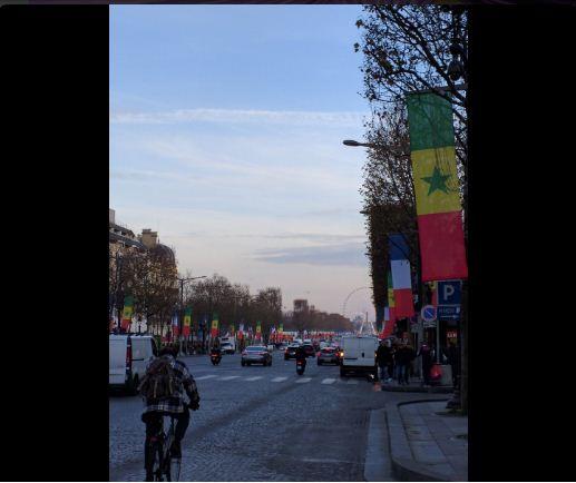 Visite d'Etat du président Macky Sall à Paris, le Sénégal à l'honneur sur les Champs-Élysées