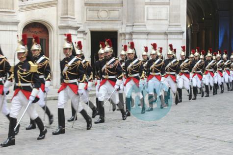 Photos: la réception du président de la République Macky Sall par Madame Hidalgo, maire de Paris