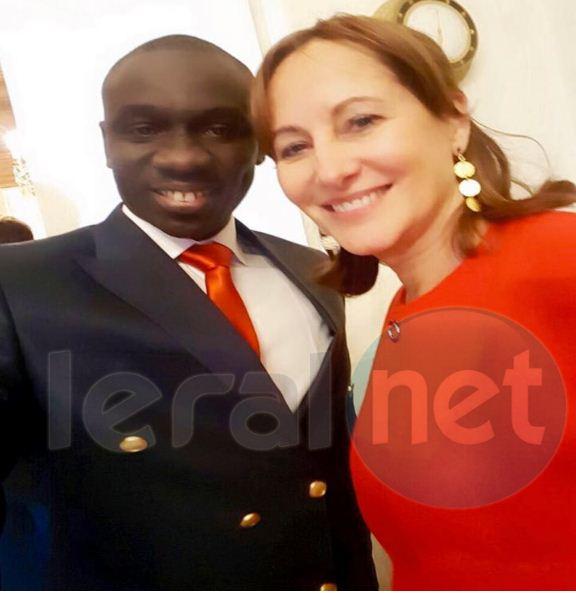 Papa Diouf et Ségoléne Royal