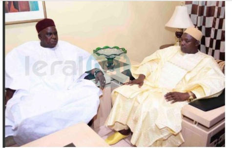 Abdoulie Bah maire de la capital gambienne  Banjul, a rencontré le Président élu Adama Barrow et l'assure du soutien et de la solidarité