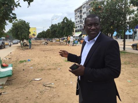 """Moussa Tine (Alliance Démocratique Pencoo) dans """"Pile ou Face"""""""