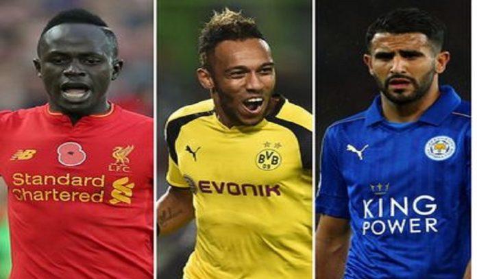 Le podium des meilleurs joueurs Africains
