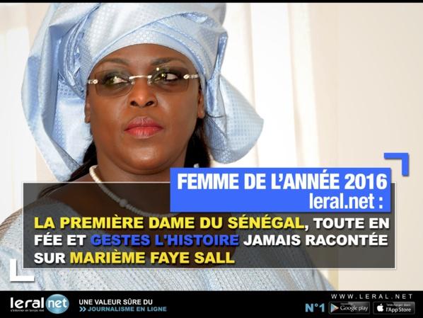Femme de l'année 2016 : Marième Faye Sall, First Lady de charme et d'altruisme