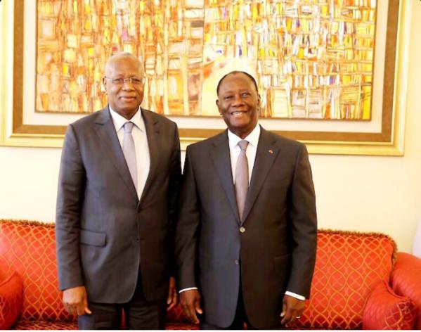 Présidence Commission UA : Abdoulaye Bathily en Côte d'Ivoire et en Guinée Conakry