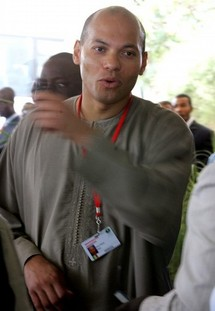 Le cardinal Théodore Adrien Sarr exprime toute sa gratitude à Karim Wade
