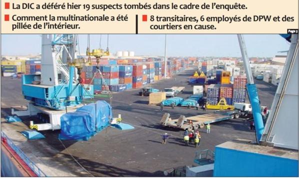 Grâce à ces manœuvres frauduleuses, près de 2000 containers sont passés sous le nez de l'opérateur portuaire.