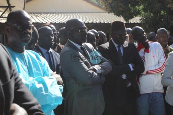 28 Photos: La levée du corps d'Aboubacry Mbodj secrétaire général de la RADDHO