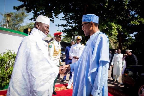 Le Nigeria accorde l'asile à Yahya Jammeh