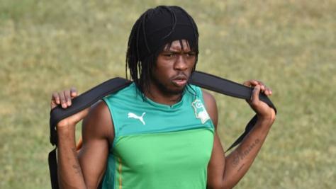 © Archive, AFP | L'Ivoirien Gervinho, blessé et forfait pour la CAN-2017.