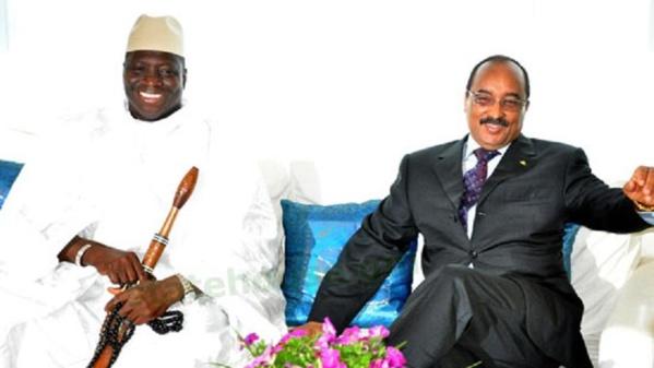 """Gambie : le président mauritanien Mohamed Ould Abdel Aziz en route pour Banjul """"pour une solution de la crise"""""""