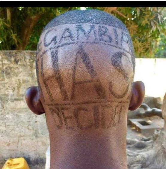 La nouvelle coiffure qui fait fureur en Gambie, regardez!!!