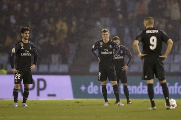 Coupe du Roi: le Real Madrid éliminé par le Celta Vigo