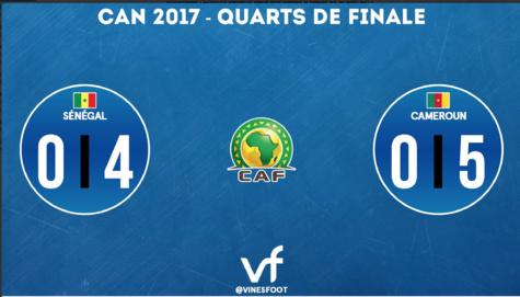 Le Sénégal est éliminé!!!
