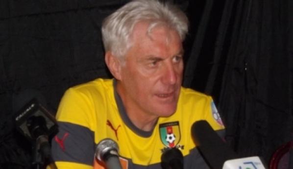 Hugo Broos, sélectionneur du Cameroun:''nous n'avions pas les moyens de rivaliser dans le jeu''