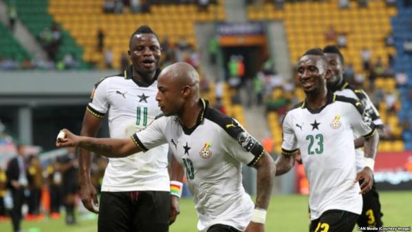 Vidéo-CAN 2017: Ghana vs RDC (2-1), les frères Ayew portent leur équipe en demi-finale contre le Cameroun