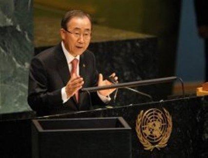 Darfour: Ban Ki-moon salue l'annonce par Khartoum d'une trêve