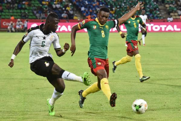 CAN 2017: le Cameroun l'emporte devant le Ghana et et retrouve l'Egypte en finale