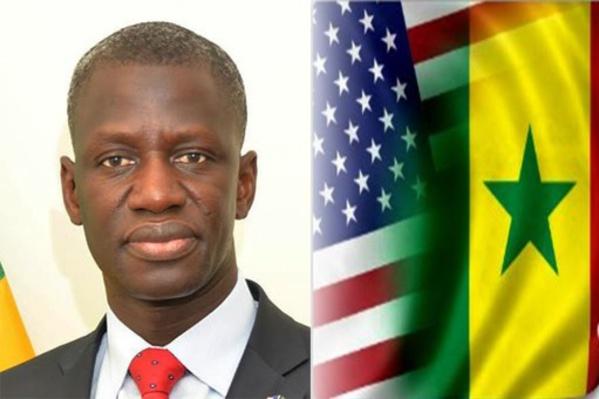 El hadji Amadou Ndaw, le Consul général du Sénégal à New York.