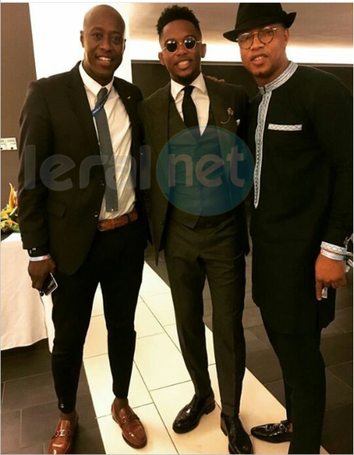 Fadiga,Etoo et El Hadji Diouf