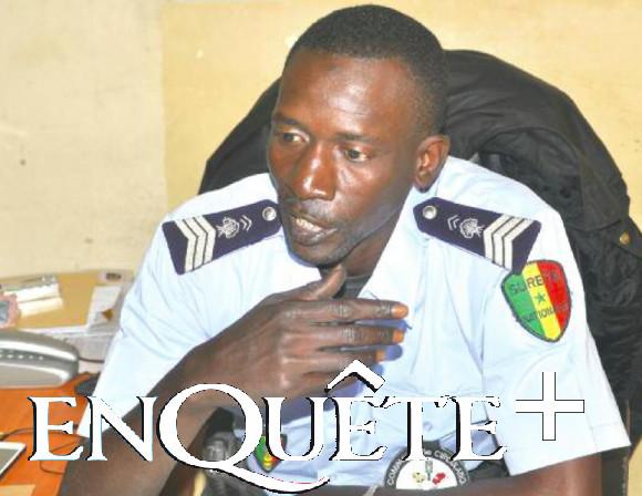 """Mouhamadou Diouf, agent de la circulation Amoul Yaakar (""""la voie sans issue"""")"""