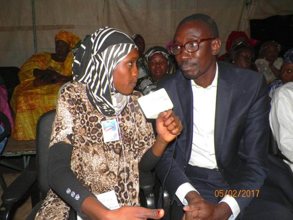 Images du meeting  du DG Biram FAYE à Fatick, sous le thème: Bilan à mi-parcours du Président Macky SALL et importance des inscriptions sur les listes électorales