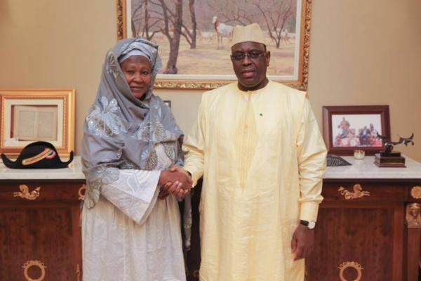 Bourde diplomatique à l'U.A : Fatumata Jallow Tambajang, la vice-présidente de la Gambie traite Alpha Condé de « fou »