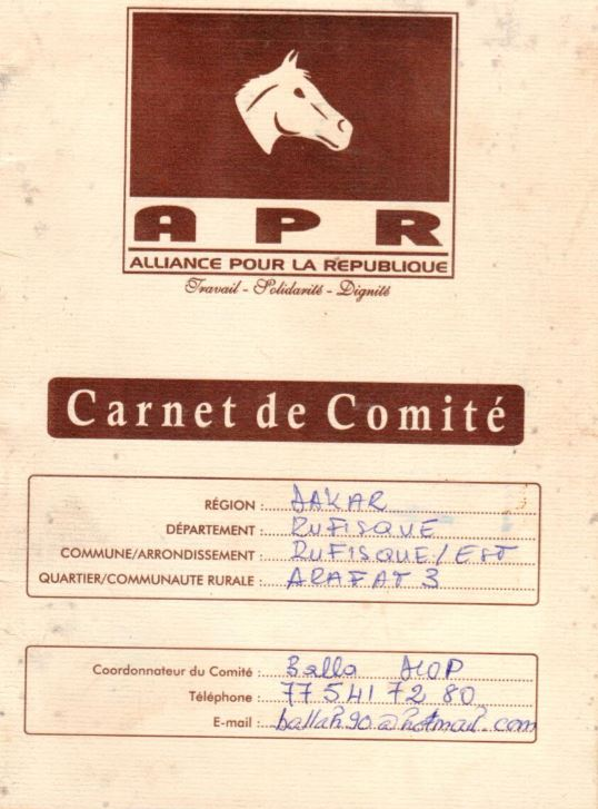 Droit de réponse: Balla Diop adoube Seydou Guèye et flingue Moustapha Diakhaté et la COJER de Rufisque