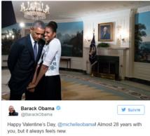 Michelle et Barack Obama: une Saint-Valentin trop romantique !