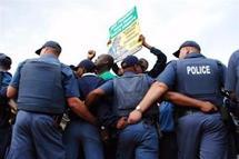 Mondial-2010 - Afrique du Sud: objectif de 190.000 policiers dès 2009
