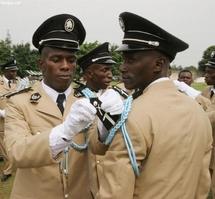 """Gbagbo hier aux policiers a l`Ecole de Police: """"Je ne veux plus de voleurs, de bandits et racketteurs dans vos rangs"""""""