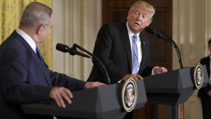 Trump à Netanyahu: la «solution à deux Etats» n'est pas la seule voie possible