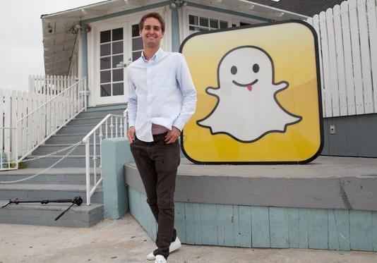 Zoom sur Evan Spiegel: milliardaire à 24 ans grâce à Snapchat