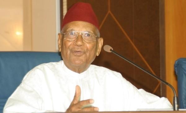 Le président des Assises nationales Amadou Makhtar Mbow