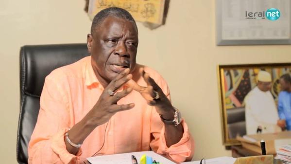 Me Ousmane Sèye, vice-président du Haut Conseil des collectivités territoriales.