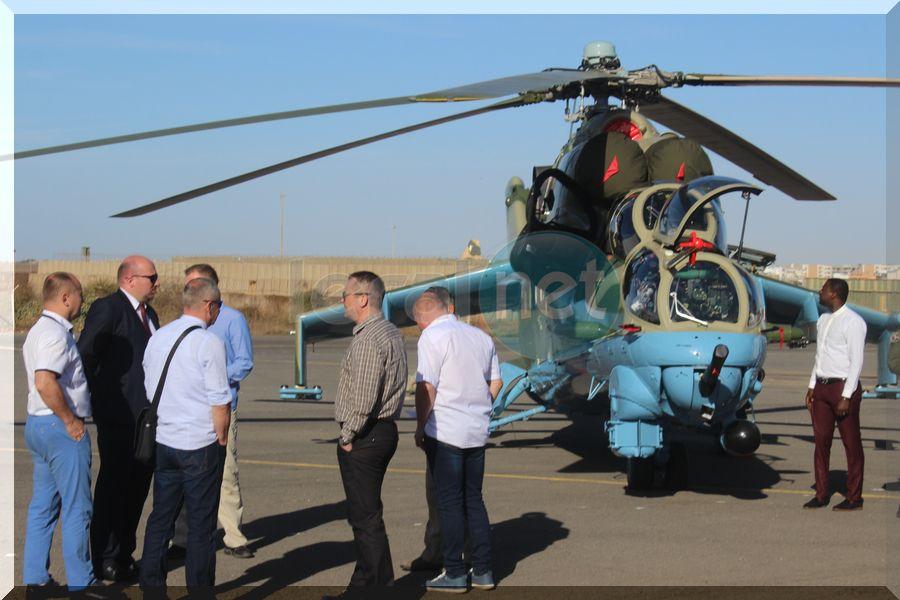 Revivez en images la cérémonie de la réception de deux aéronefs à la base aérienne Capitaine Mame Andalla Cissé