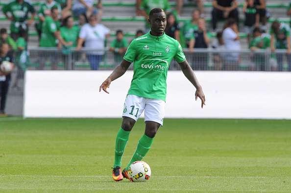 """L'international sénégalais de Saint-Etienne, Henri Saivet, un des """"Lions"""" en lice en Ligue Europa"""
