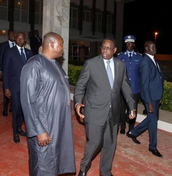 Macky Sall à Banjul pour la célébration de la fête nationale d'indépendance de la Gambie