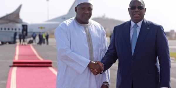 Les Présidents Gambien Adama Barrow et Sénégalais Macky Sall veulent donner un nouvel élan aux relations entre les deux pays