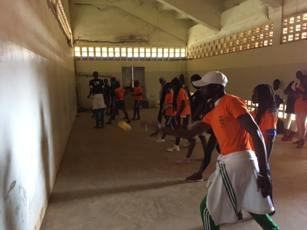 Le frontball : A la découverte d'une nouvelle discipline sportive initiée par la Fédération Internationale de Pelote basque (FIPV) à Guédiawaye