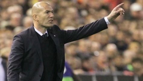 La colère de Zidane