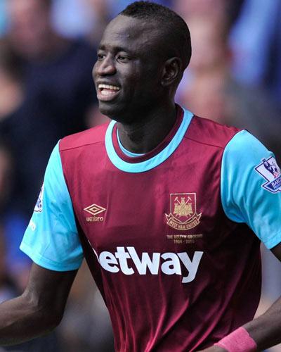 "Cheikhou Kouyaté, West Ham: ""Je préfère évoluer au milieu"""