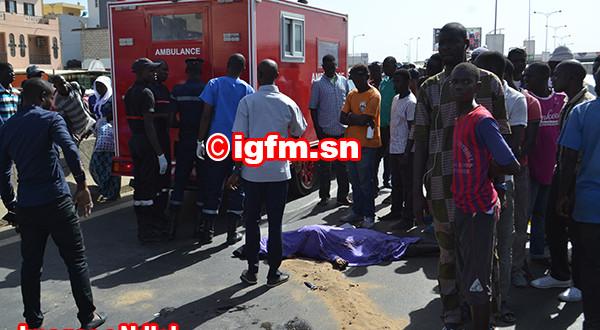Accident: Deux morts sur la route de Mbour après la collision entre un camion et un mini-bus