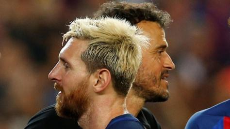 """Luis Enrique : """"Messi est le meilleur joueur du monde, il est normal de dépendre de lui"""""""