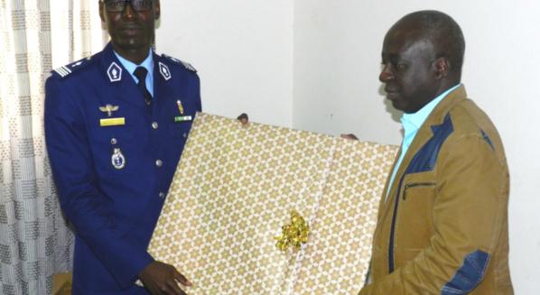 Promu commandat: Le Capitaine Samba Diallo fêté par les ADS