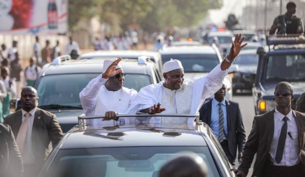 SE Macky Sall et SE Adama Barrow