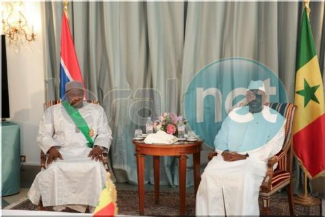 Signature d'accords: Le président Macky Sall et son homologue gambien Adama Barrow mettent en place un ''Conseil Présidentiel''