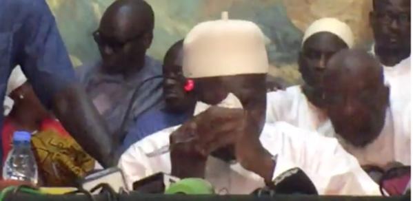 Conférence de presse: Khalifa Sall craque et fond en larmes